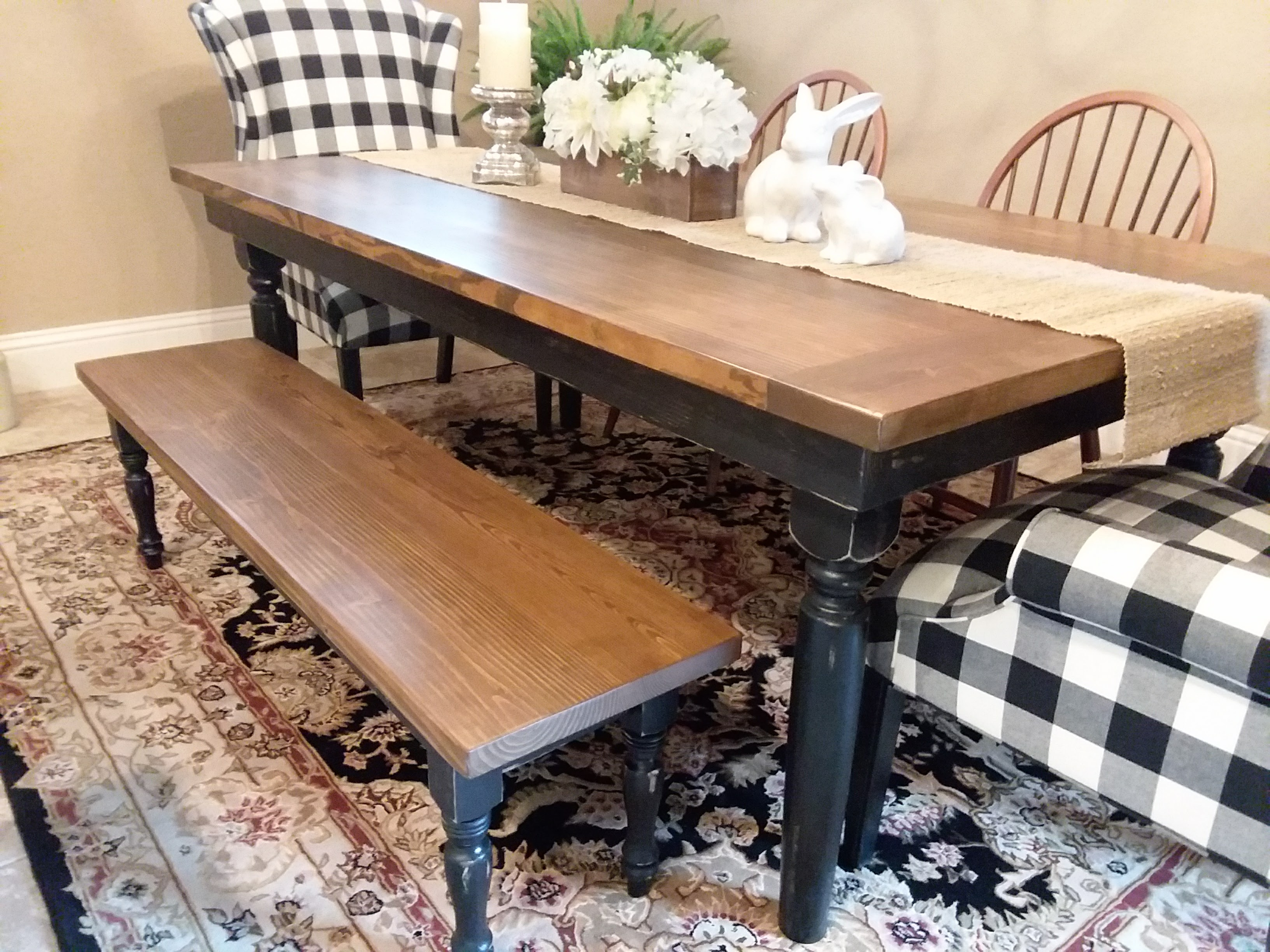 View Our Gallery - Lots Of Rustic Farm Tables