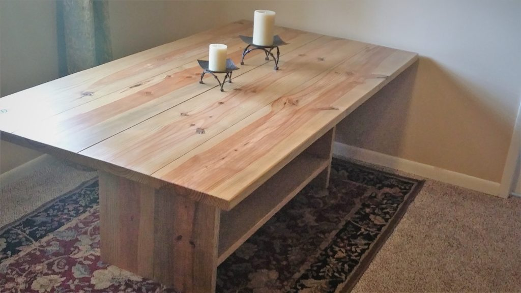 Jesus Tables Rustic Trestle Farm Table