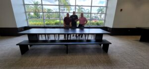 first baptist church of naples gets a jesus table